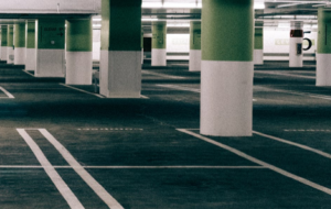 parkplatzabsperrung